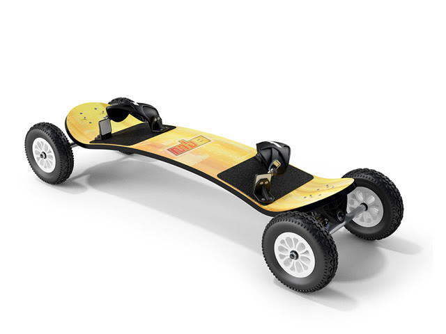 Electric skateboard 3d model 3dsMax files free download  modeling 8768 on CadNav