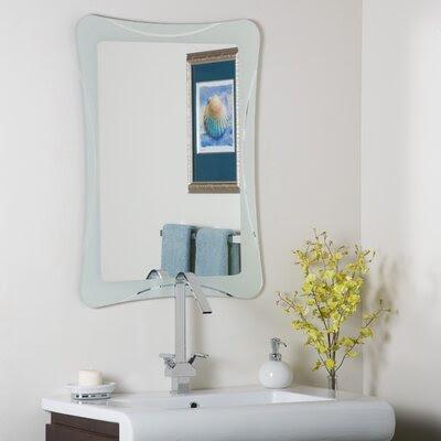Coated Bathroom Mirror | Wayfair