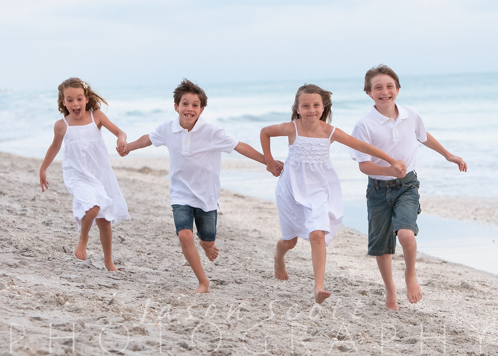 Siesta Key and Longboat Key Beach Portrait Samples by Jason Scott Photography