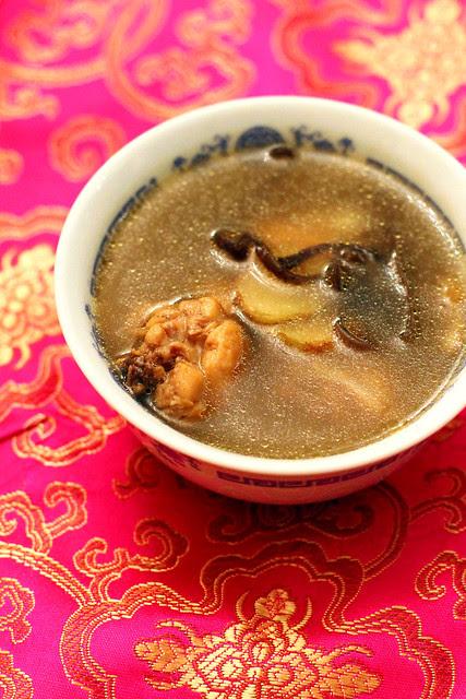 Chinese Drunken Chicken Soup