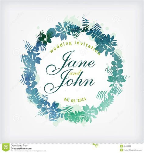 Wedding Card Design. Stock Vector   Image: 45469028