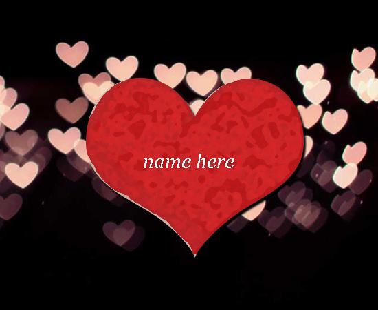 Love Gif Write Name