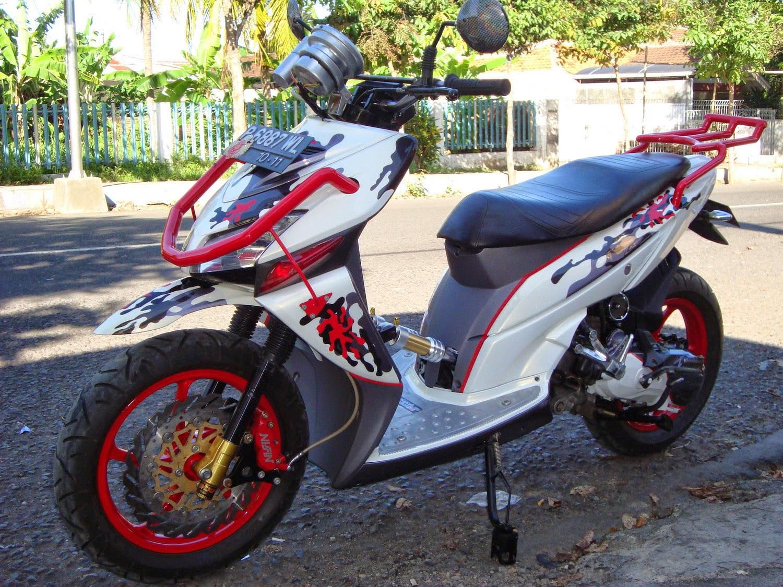 Kumpulan 89 Gambar Modifikasi Motor Honda Ulung Terbaik Janur