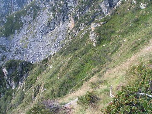 Percorso attrezzato dal Lago alla parete Est del Mucrone