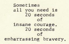 sometimes that's all it takes....