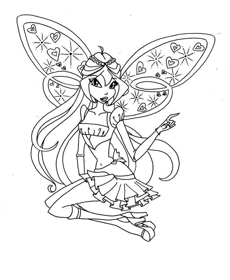 Winks Coloring Pages At Getdrawingscom Free For Personal Use