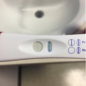 Pregnancy test turn positive after 10 minutes ago