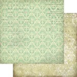 Papier  Green diamonds