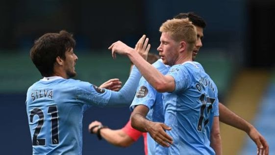 MANCHESTER CITY 5 – 0 NORWICH CITY [PREMIER LEAGUE] HIGHLIGHTS 2019/20