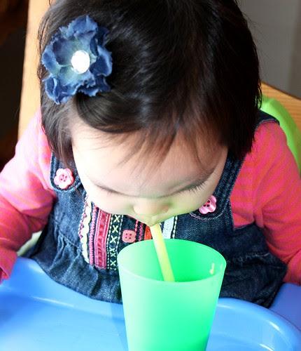chicken noodle soup thru a straw