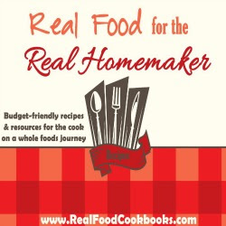 Real Food Cookbooks