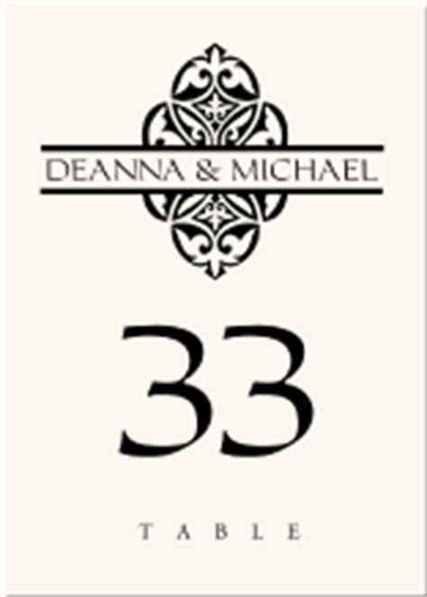 Buddhist Hindu Wedding Table Cards Indian Table Numbers
