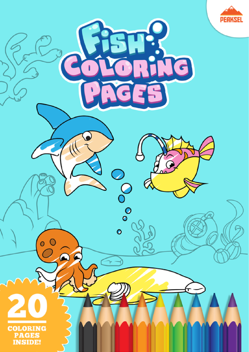 Fish-Coloring-Pages-PDF  authorSTREAM