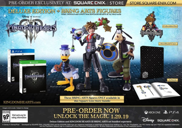 Image result for THERE'S A $230 KINGDOM HEARTS 3 SPECIAL EDITION