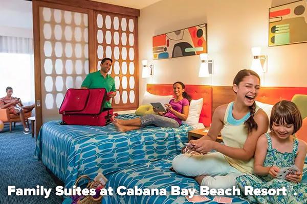 Family Suites at Cabana Bay Beach Resort™