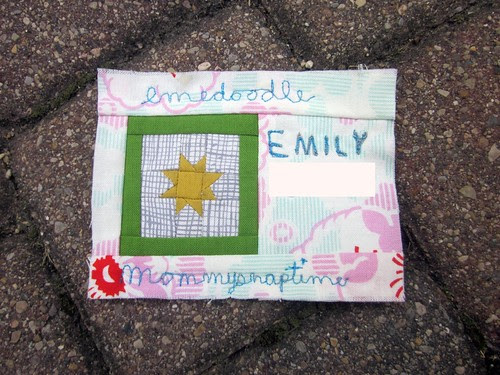 Sewing Summit - name tag!