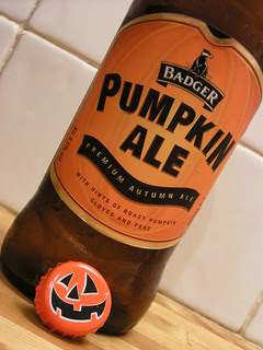 Week 8-52 Beers, Badger, Pumpkin Ale, England