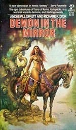 book cover of   Demon in the Mirror
