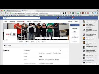 5 Facebook Marketing and LIVE review of FiveOH business page