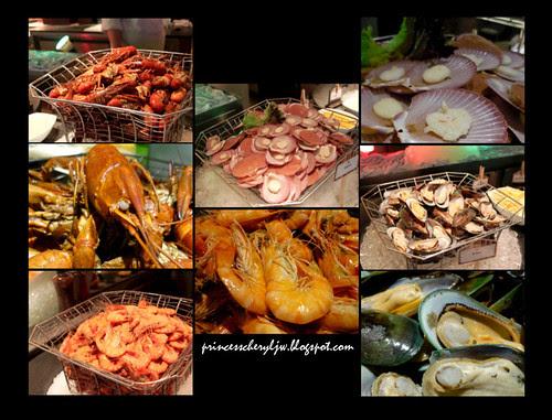 spice market seafood corner
