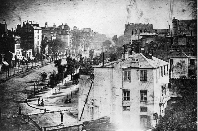 La primera persona fotografiada (París, 1839)
