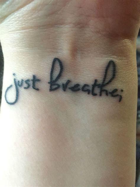 awesome breathe tattoos