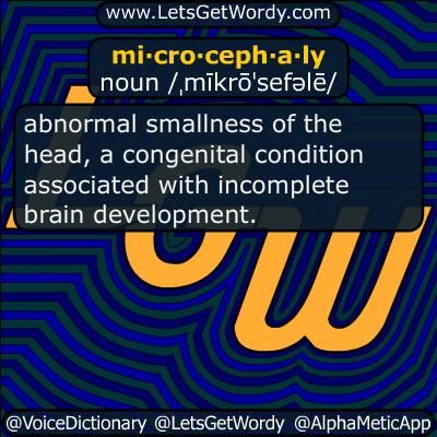 microcephaly 02/02/2016 GFX Definition