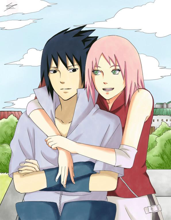 Sasuke Uchiha And Sakura Haruno Sasusaku Fan Art 37487745 Fanpop