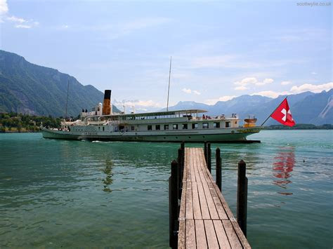 paddle steamer  lake thun wallpapers paddle steamer