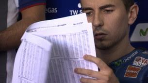 Lorenzo fastest on Monday in Valencia test