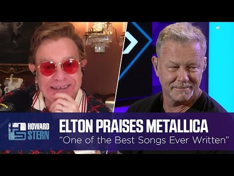 Elton John Covers, and Miley Cyrus Sings - With Metallica...