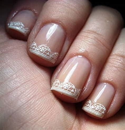 35  Most Beautiful Wedding Lace Nail Art Designs