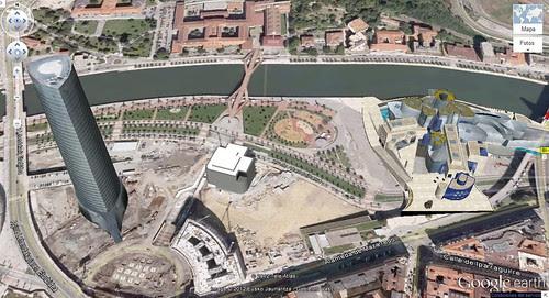 MapsGL sobre Bilbao