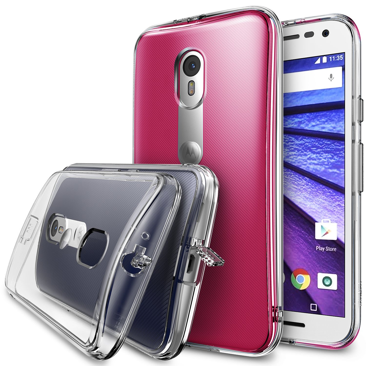 Ringke FUSION Crystal View Moto G 3rd Gen 2015 Case