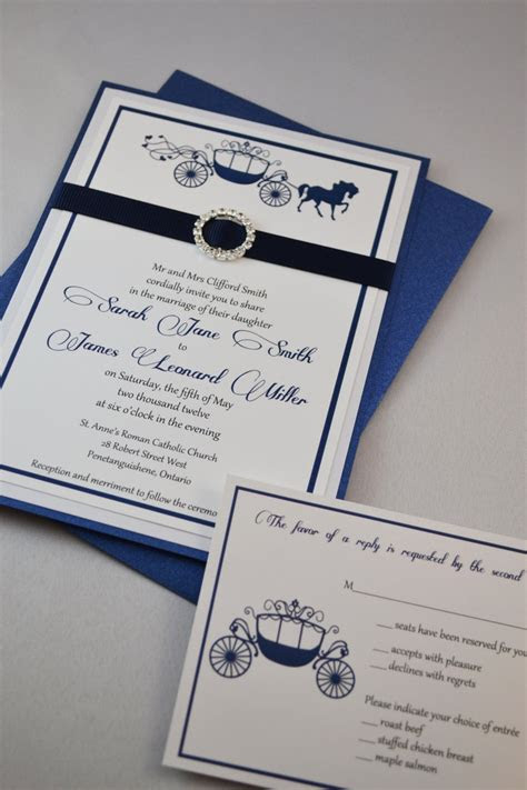 17 Best ideas about Fairytale Wedding Invitations on
