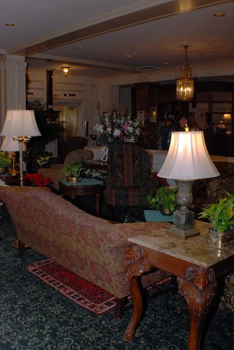 The Lobby of the Hawthorne Hotel