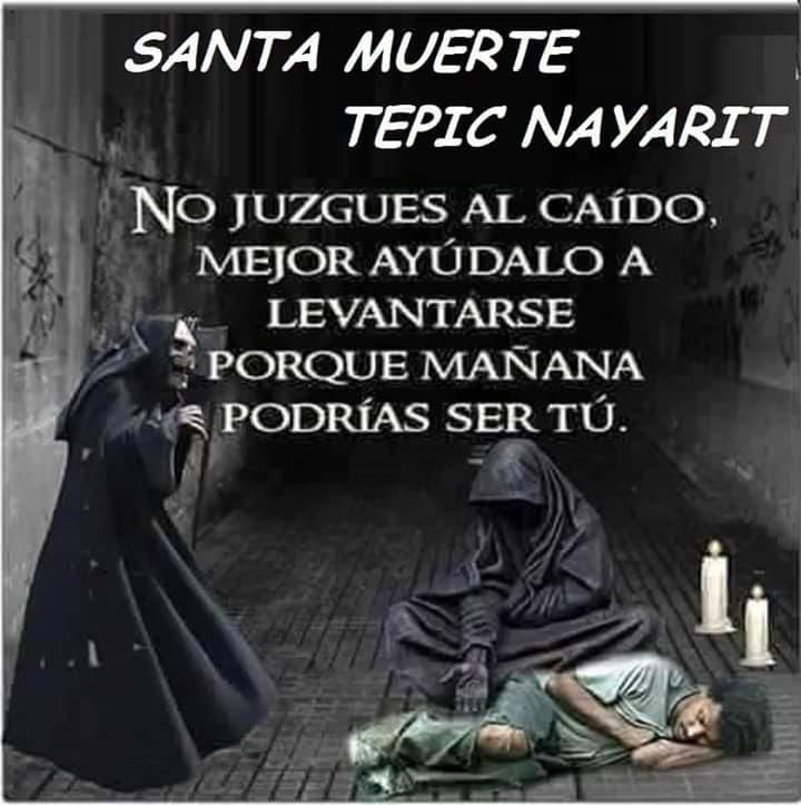 Imagenes De La Santa Muerte Con Frases Chidas Imagenes De La Santa