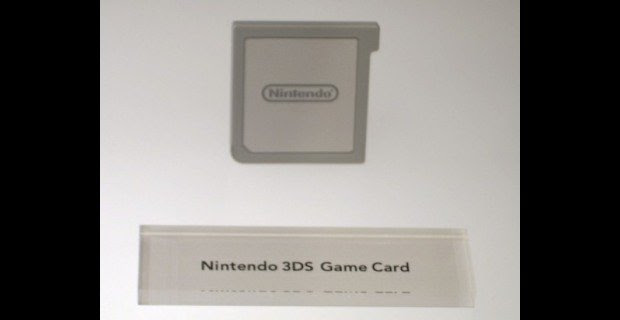 E3 10: What the 3DS game cartridges will look like screenshot