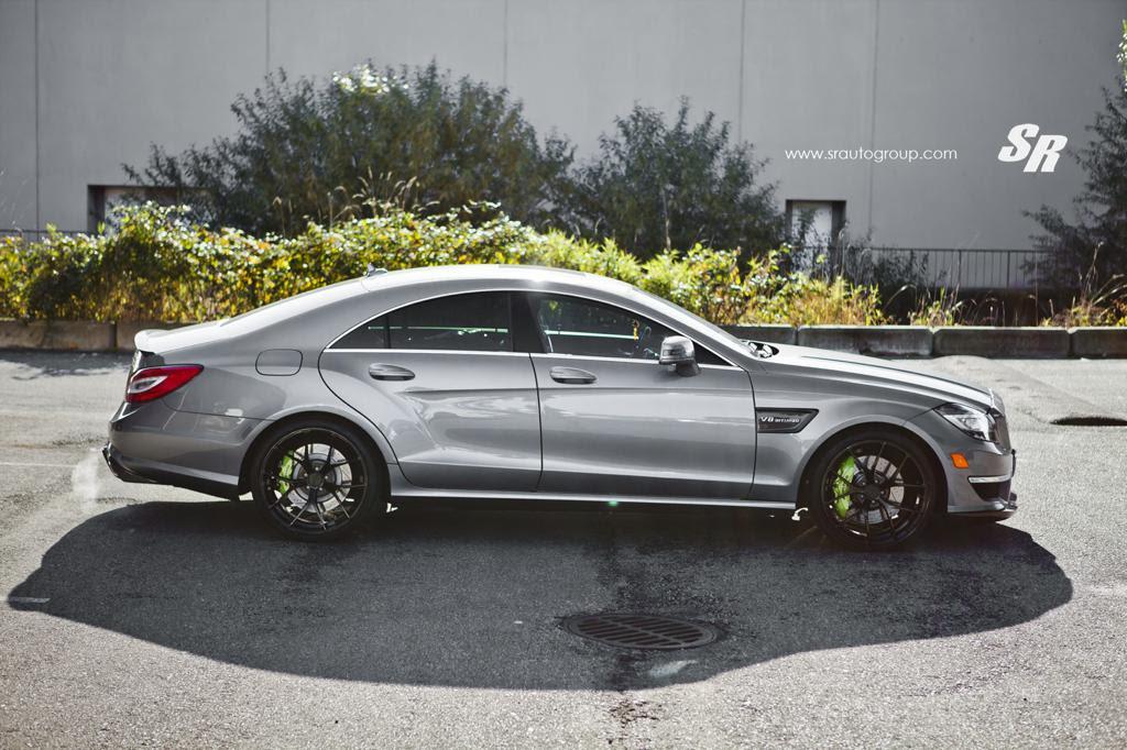 Custom Mercedes CLS63 AMG by SR Auto