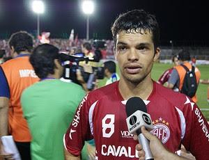 Márcio Passos vai ser julgado e pode desfalcar o América-RN (Foto: Augusto Gomes/GLOBOESPORTE.COM)