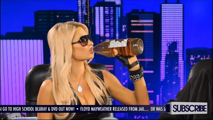 Paris Hilton - On GGN and Drinks Her First 40oz Beer - GGN News: S4 Ep. 5