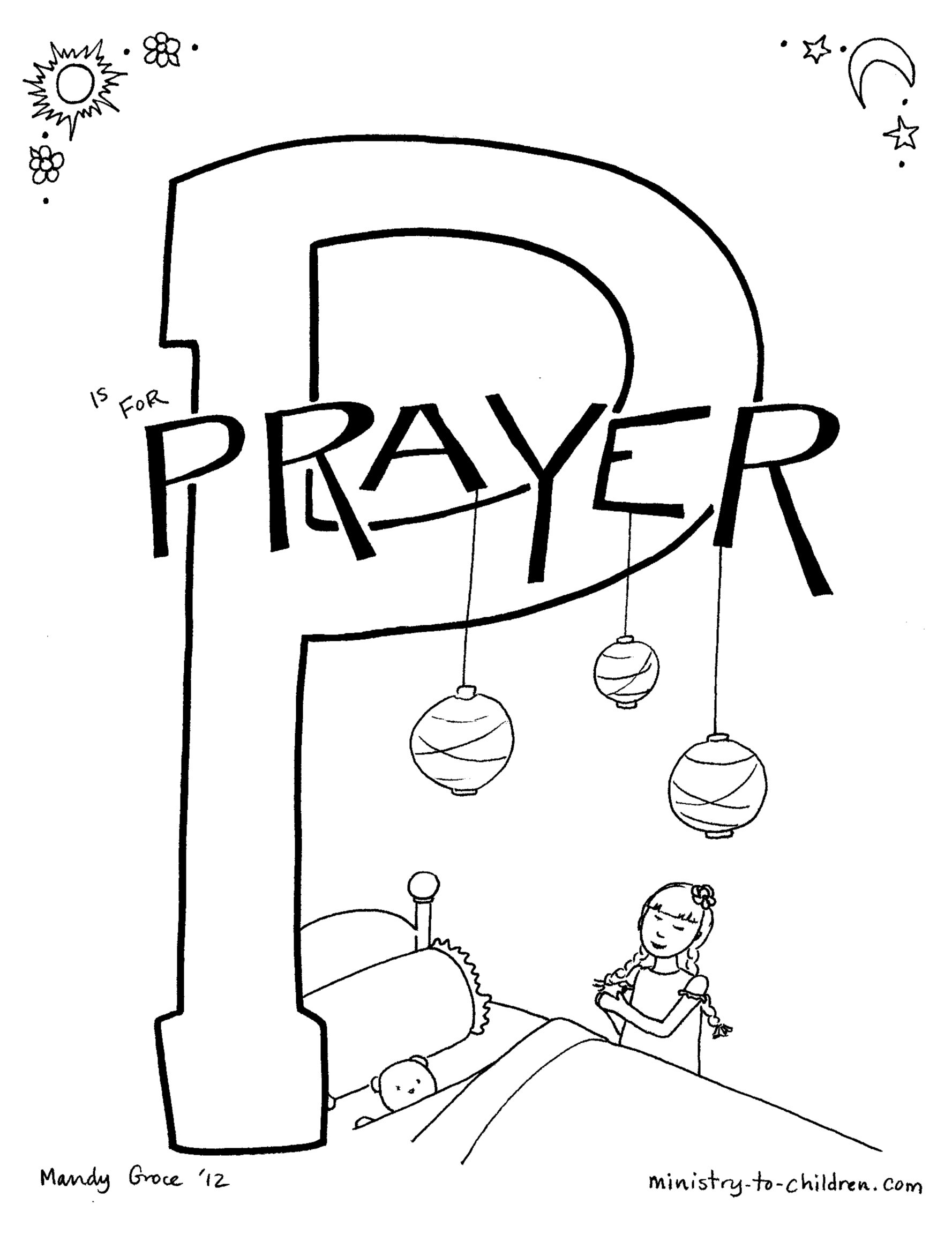 Hannah Bible Story Coloring Page - Coloring Home