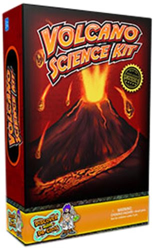 Discover with Dr. Cool Ultimate Volcano Science Kit (Make a Volcano Erupt!)
