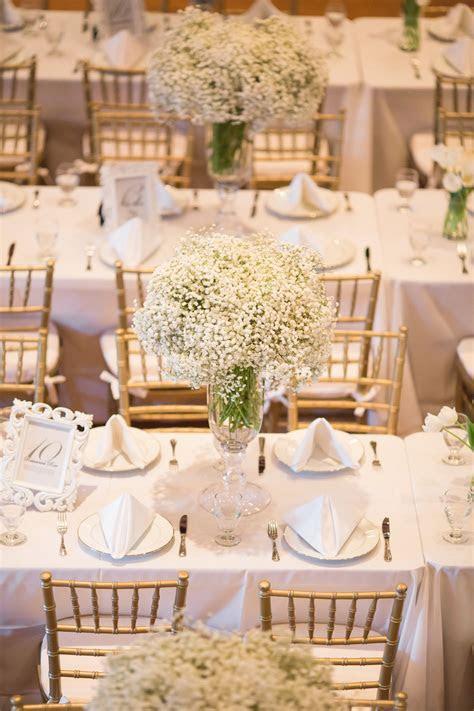 baby's breath wedding decor ideas   Griffiths & Semper