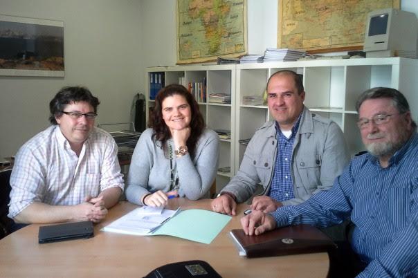 Reunión Oneco Proyecto Europeo de Deportes de origen medieval