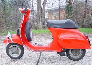 Piaggio Vespa 50 Special 1