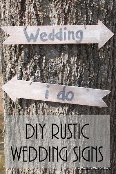 DIY for signs wedding rustic these signs rustic  Make your wedding signs wedding diy . rustic