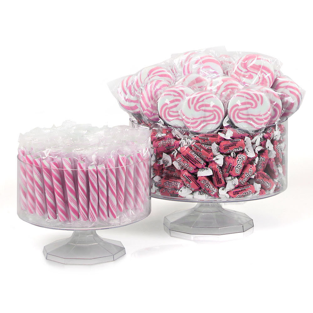 Pink - Party Candy Kit  Centerpiece ideas for Baby Shower