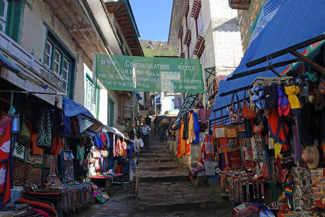 Image result for Namche Bazaar