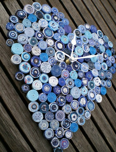 recycled-paper-clock